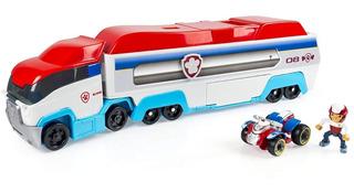 Bus Camión Paw Patrol Patrulla Canina + Entrega Inmediata
