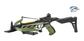 Pistola Ballesta Tactica De 80 Lbs Mankung + 3 Dardos Alumin