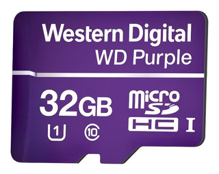Cartão Micro Sd 32 Gb Intelbras Purple