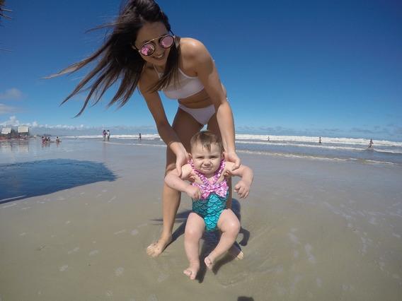 Maiô Biquini Bebê Moda Praia + Brinde!