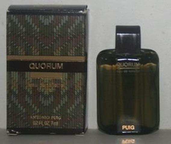 Miniatura De Perfume: Antonio Puig - Quorum - 7 Ml - Edt 1