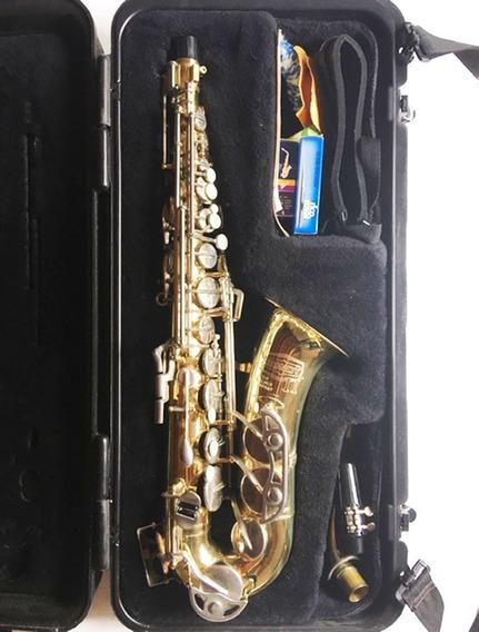 Saxofón Alto Bundy 2 Selmer Eeuu Accesorios Y Estuche Rígido