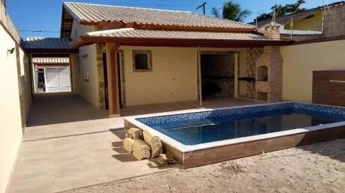 Belíssima Residência Nova Em Itanhaém - 6784 | P.c.x