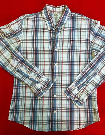 Camisa Tommy Hilfiger 100% Original Talla M/ Lacoste Polo