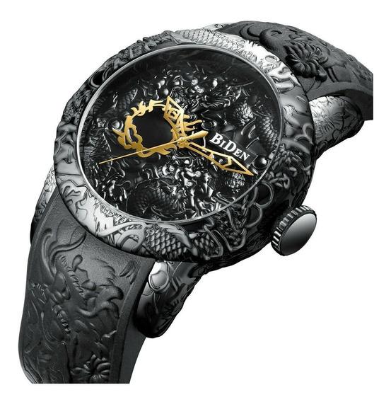 Relógio Biden 0129 Original Nota Fiscal Top Promoção