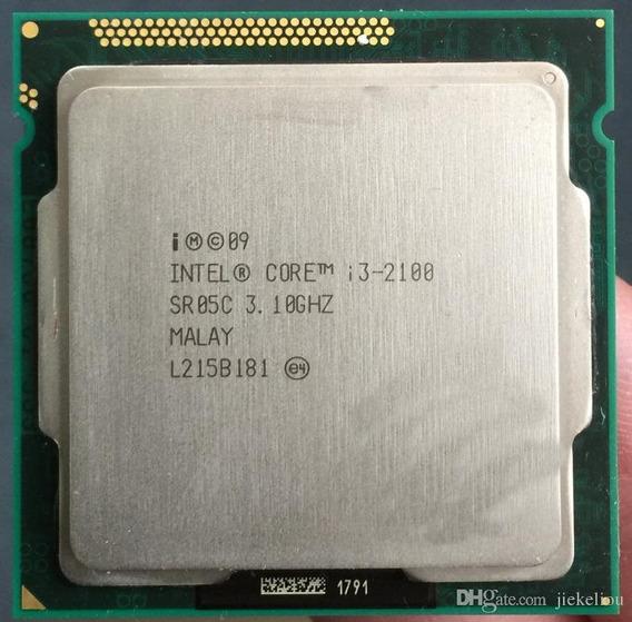 Processador 1155 - Intel Core - I3 2100 3.10ghz - Usado