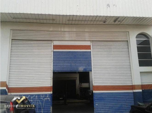 Salão Para Alugar, 300 M² Por R$ 4.500,00/mês - Vila Scarpelli - Santo André/sp - Sl0183
