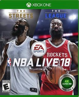 Nba Live 18 Xbox One Nuevo Y Sellado (en D3 Gamers)