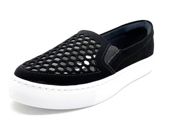 Sapatos Femininos Slipper Slip On Confort Dani K