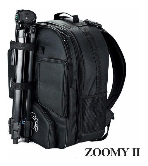 Mochila Fotografica Zoomy Ii Para Camera Tripe E Notbook 17