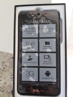 Smartphone Blu Grand Max G110eq Dual Sim 3g Tela 5.0 Preto