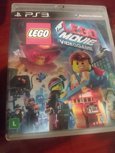 Lego Movie Vídeo Game Ps3 Mídia Física