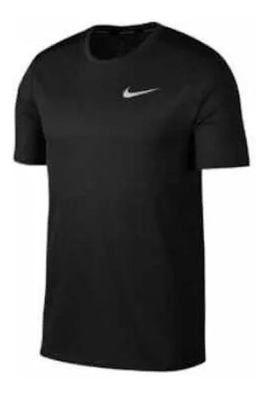 Playera Nike Breathe Negra Caballero 1487831 Ven.nom