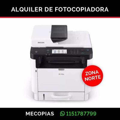 Alquiler De Fotocopiadoras Zona Norte San Isidro Impresoras