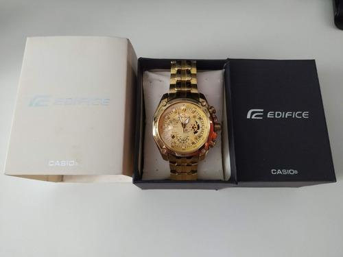 Relógio Edifice No. 5147 Dourado