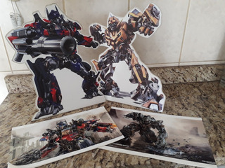 Artigo Festa Infantil Display Mesa Transformers Aprox. 30 Cm