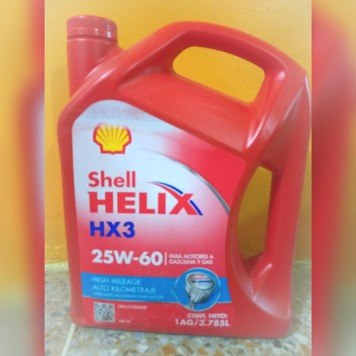 Shell Aceite 25w 60