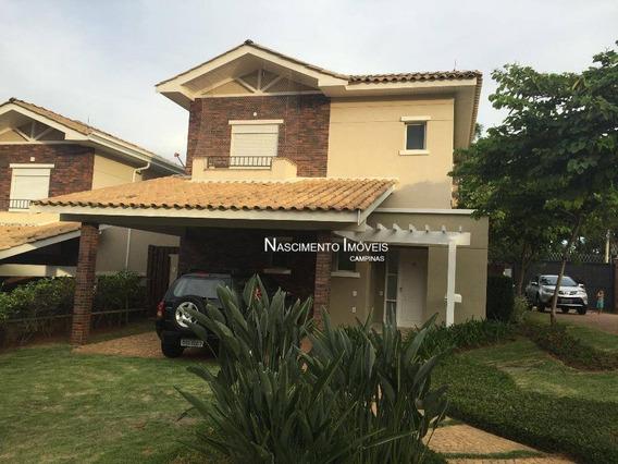 Casa Residencial À Venda, Jardim Madalena, Campinas. - Ca0185