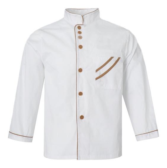 Cozinha Chef Roupas Jaqueta Coat Restaurante Cook Uniforme L
