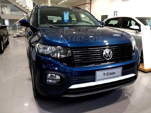 Volkswagen T Cross Trendline 0km Manual 2021 Nueva Vw Tcross