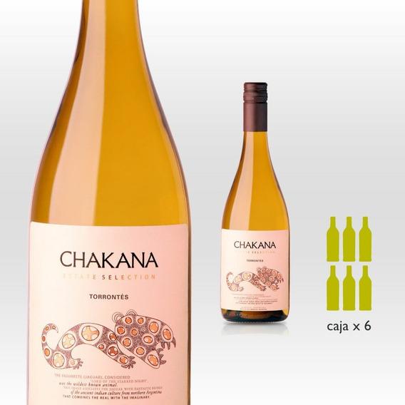 Vino Blanco Chakana Estate Selection Torrontés (6 X 750 Ml)