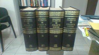 Goethe. Grandes Clásicos. Aguilar. Obras Completas 4 T