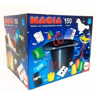Juego De Magia Con Galera 150 Trucos 5001