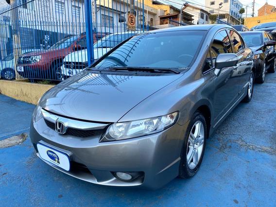 Honda Civic 1.8 Exs Flex Aut!!! Top De Linha!!! Confira!!!