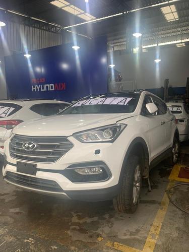 Sucata Hyundai Santa Fé V6 2017/2018 Para Retirada De Peças