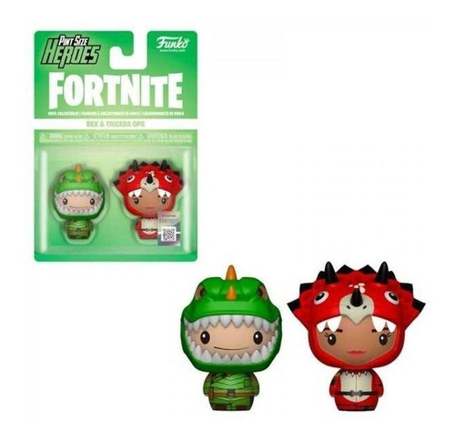 Funko Pint Size Heroes Fortnite Rex And Tricera Ops