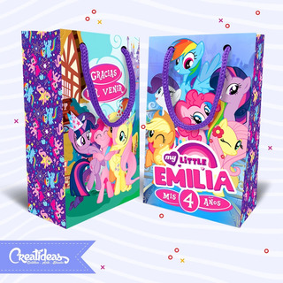 My Little Pony Bolsitas Golosineras Personalizadas Pack X30