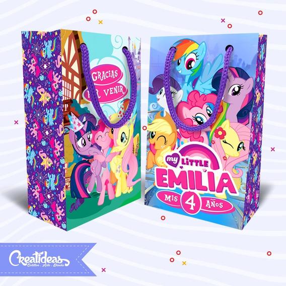My Little Pony Bolsitas Golosineras Personalizadas Pack X30
