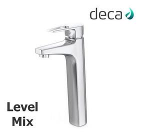 Torneira Monocomando Para Banheiro Bica Alta Level Mix Deca