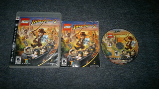 Lego Indiana Jones 2 Adveture Completo Para Play Station 3