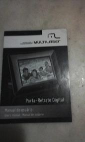 Manual Porta Retrato Digital Multilaser