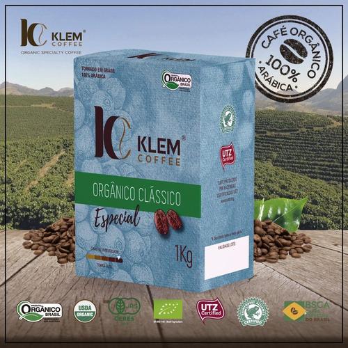 Café Orgânico Especial Clássico - Klem Coffee - 1kg