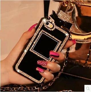 Capa Samsung Galaxy J3 2016 Perfume Bolsa Brilho Laço 3d