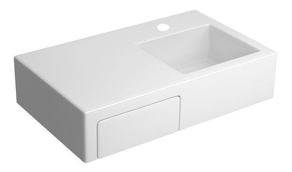Bacha Mesada L1120 Monocomando Loza Moderna Cuotas Blanca