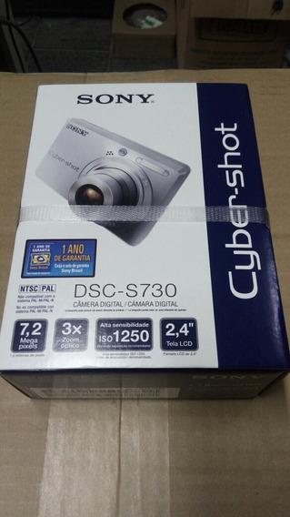 Camera Fotográfica Sony Dsc-s730
