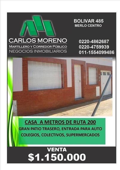 Casa A Metros De Ruta 200 !!