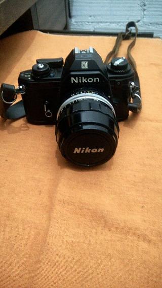 Câmera Analógica Nikon Em 35 M,raridade