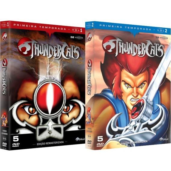 Dvd Thundercats - Primeira Temporada Completa