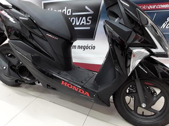 Honda Elite 125i Cbs Automático Moderna E Economica - Vd/trc