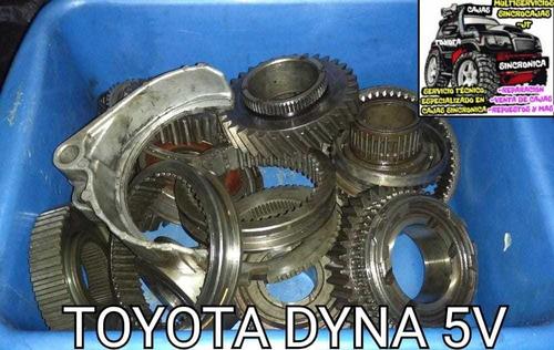 Repuestos De Caja Sincrónica Toyota Dyna 5 Velocidades