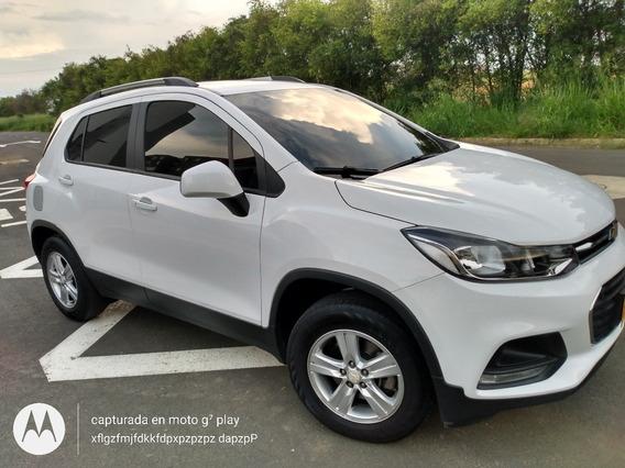 Chevrolet Tracker Ls 2018 Mecánico Blanco Unidueño