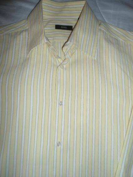 Increible Camisa Hugo Boss 100% Original