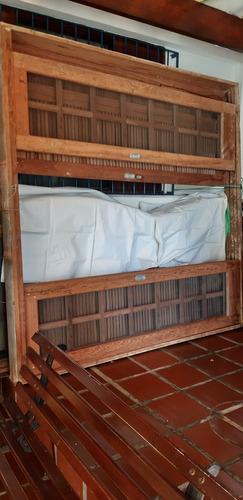 Vender Porta Balcão Madeira Em Arco Medindo 2,20x2,20