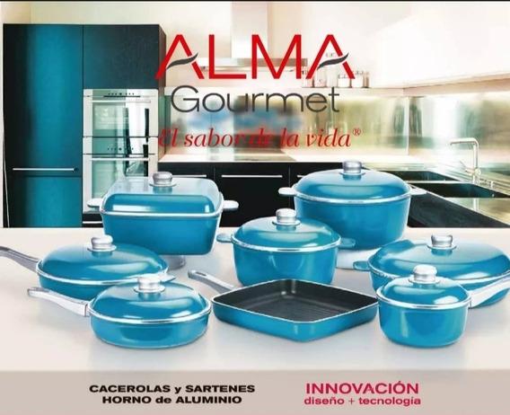 Cacerola Redonda Con Mango, Andina. Alma Gourmet