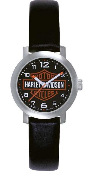Reloj Harley Davidson By Bulova Original Para Dama 76l10