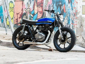 Street Tracker Kawasaki Z 250 Custom Built